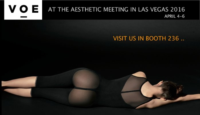 VOE Compression garments @ The Aesthetic Meeting 2016 in Las Vegas April 4 - 6