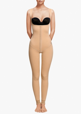 High waist girdle with extended back- Ankle Length