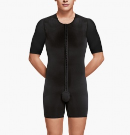 Male bodysuit with arms- Above Knee