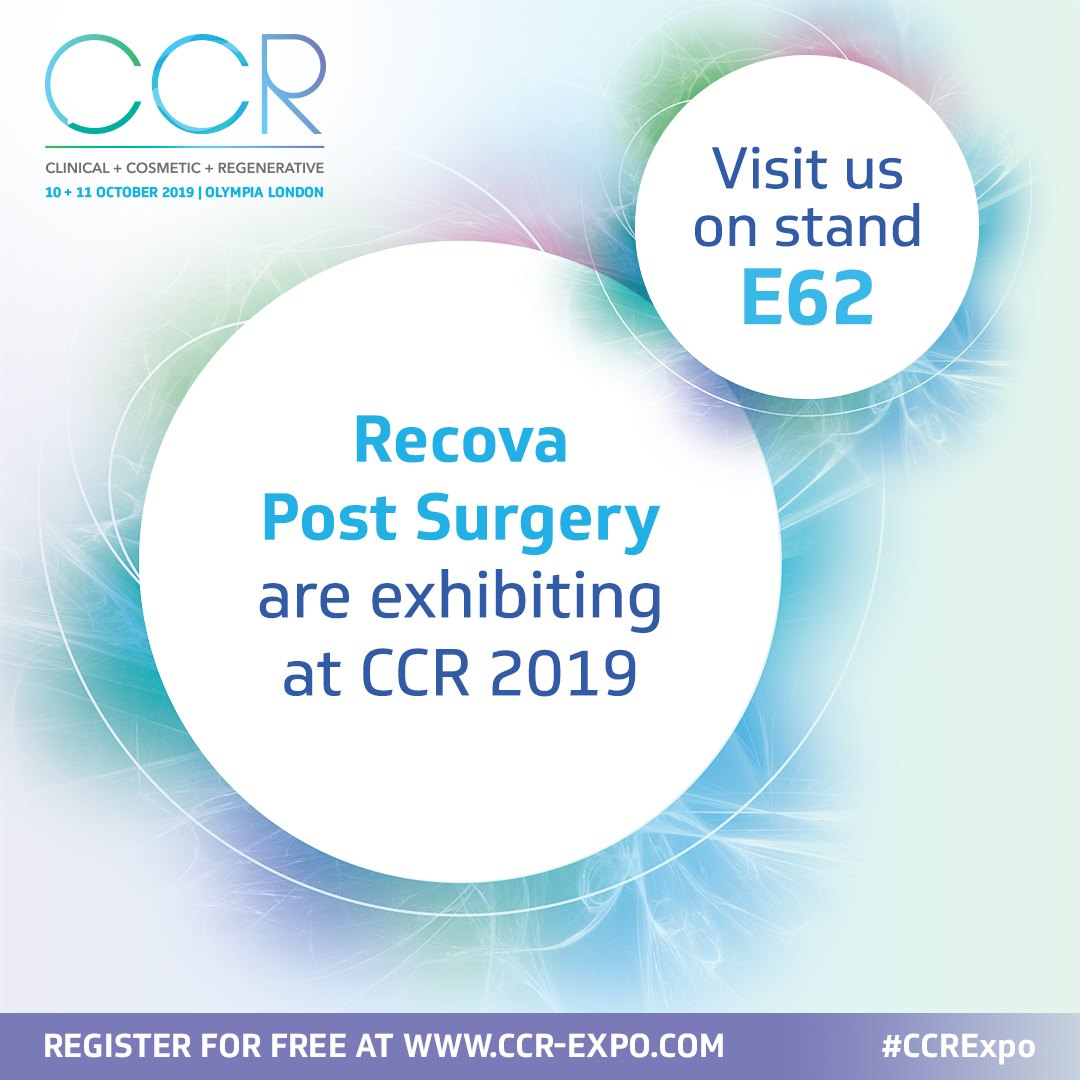 Recova post Surgery by VOE at CCR Expo Oct 2019