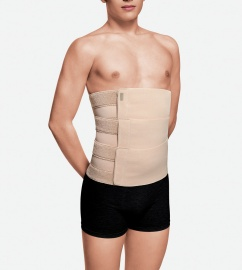Abdominal binder with three adjustable panels (UNISEX)