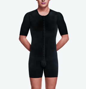 Male Bodyshaper with arms- Above Knee